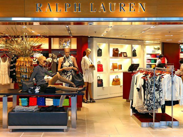 El estilo de Ralph Lauren se hizo notar en la bolsa