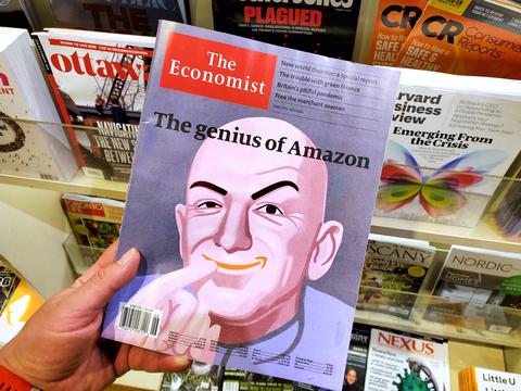 Bezos, un CEO fuera de este mundo